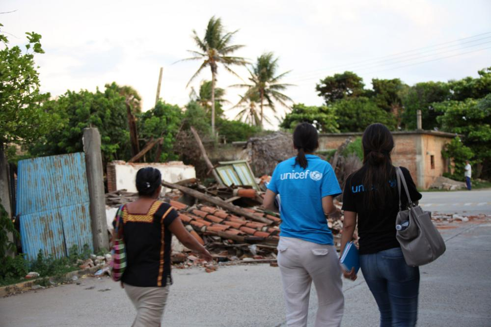 UNICEF expands relief efforts in Latin America and Caribbean after month of 'relentless' natural disasters