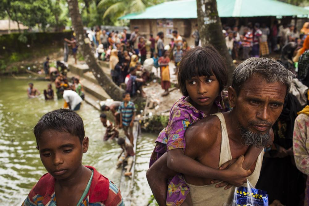 As Rohingya crisis continues, UNICEF seeks funds to reach 720,000 children in need