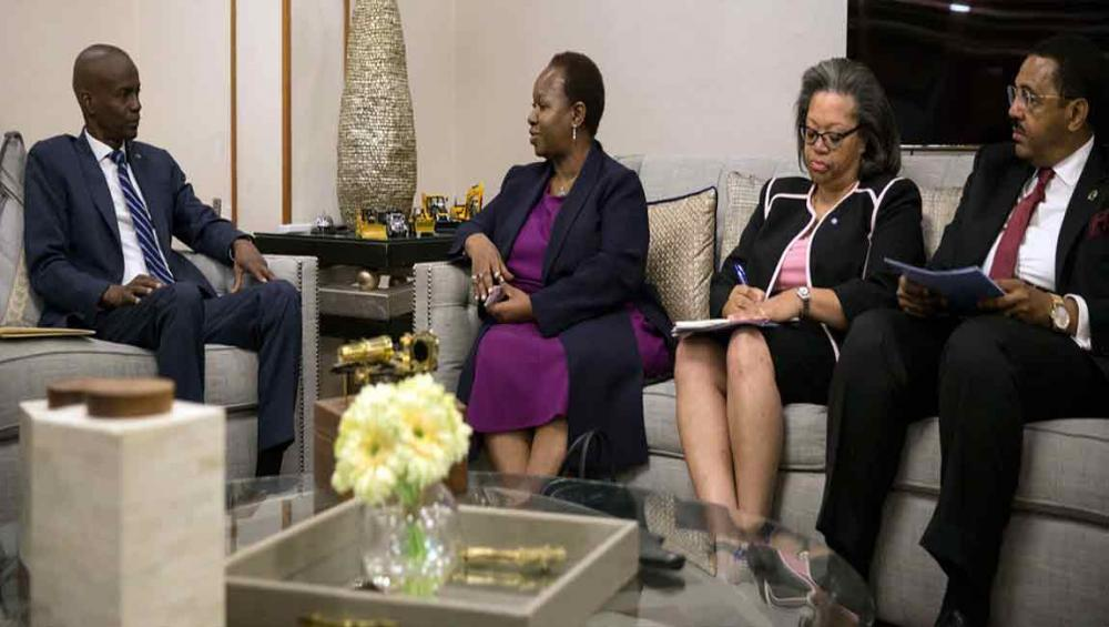 Haiti: UN determined to support authorities in strengthening rule of law