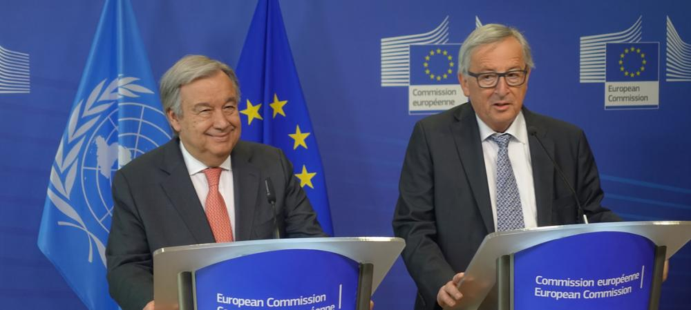 Europe should make voice 'more heard' in today's 'dangerous world,' says UN chief