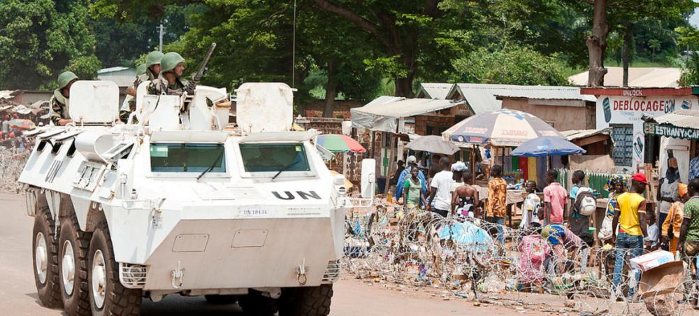 UN chief condemns attack against 'blue helmets' in Central African Republic
