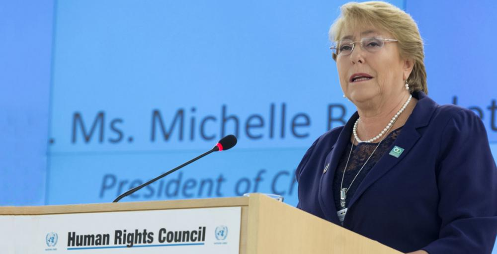 Former Chilean President Bachelet put forward by UN chief as next High Commissioner for Human Rights