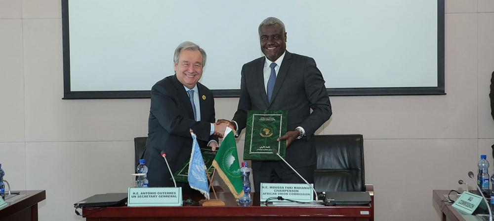 UN-African Union partnership 'not a choice but a necessity', Security Council hears