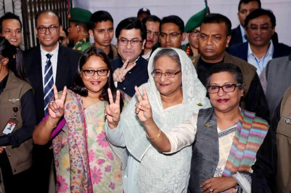 Bangladesh: Sheikh Hasina's Awami League wins election