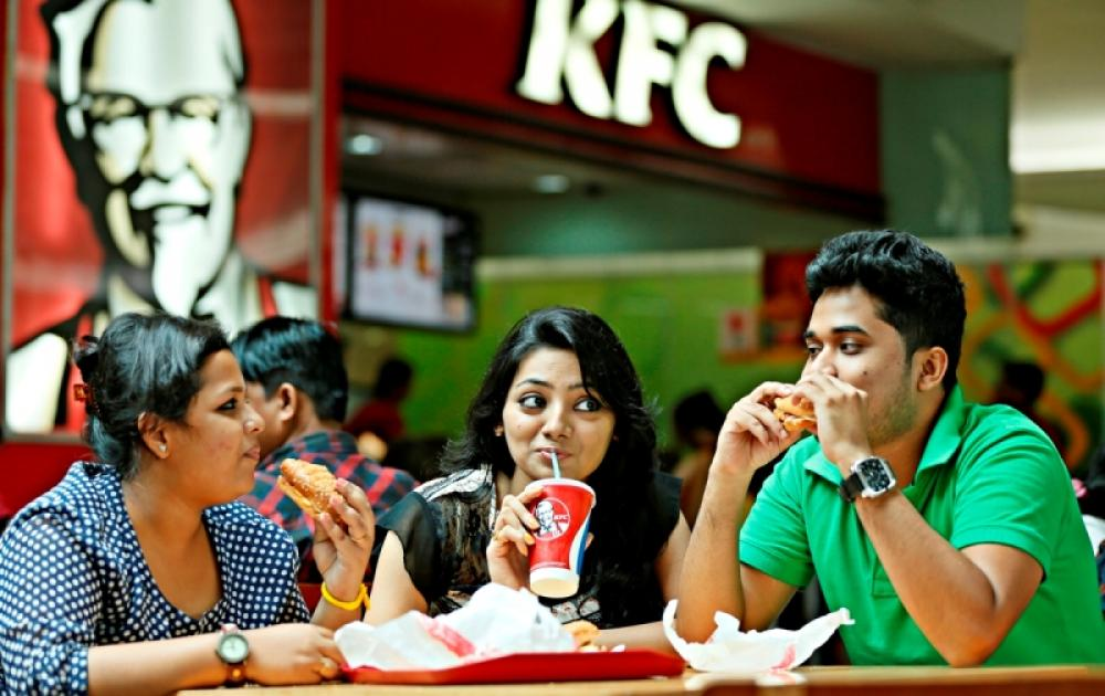 American food: I'm lovin' it, says young India