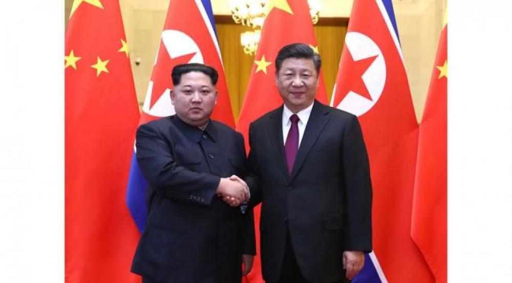 Kim Jong Un visits China, meets Xi Jinping