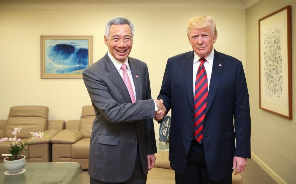 Singapore PM Lee Hsien Loong congratulates Donald Trump, Kim over summit