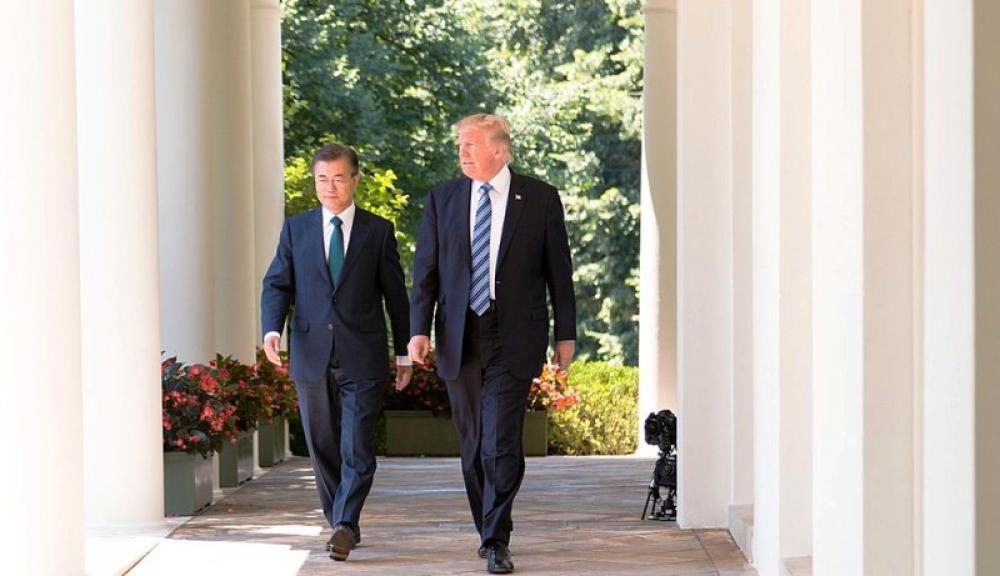 Trump deserves credit for talks between North, South Korea: Moon Jae-in