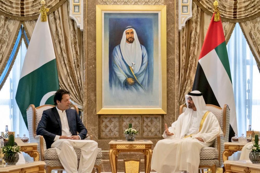 Pakistan PM Imran Khan visits UAE