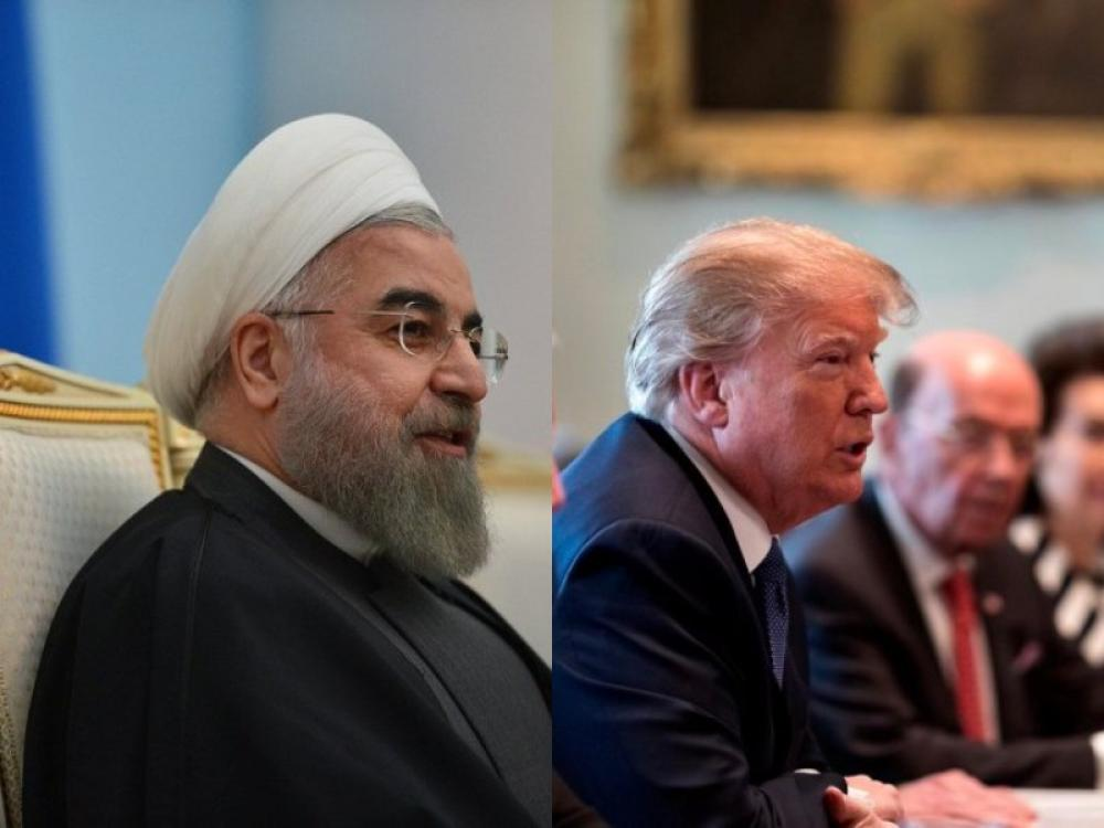 Trump goes all out on Twitter following Rouhani's threat; Threatens unprecedented consequences