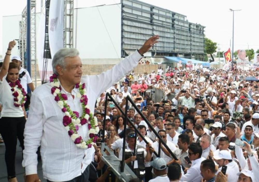 Left-winger Amlo wins Mexican presidential polls; Trump says looking forward to working together