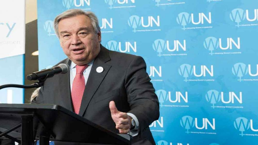 Encouraged by proposed DPRK-US talks, Guterres reiterates support for peaceful denuclearization of Korean Peninsula