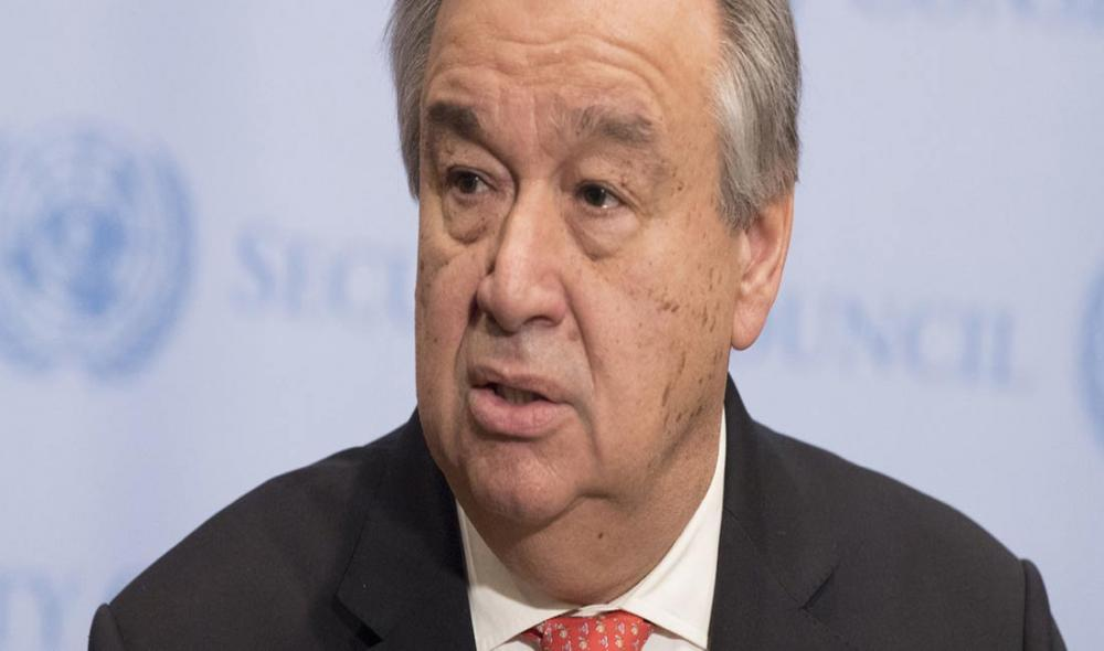 UN chief urges all sides in former Yugoslav Republic of Macedonia to proceed with name change 'through country's institutions'