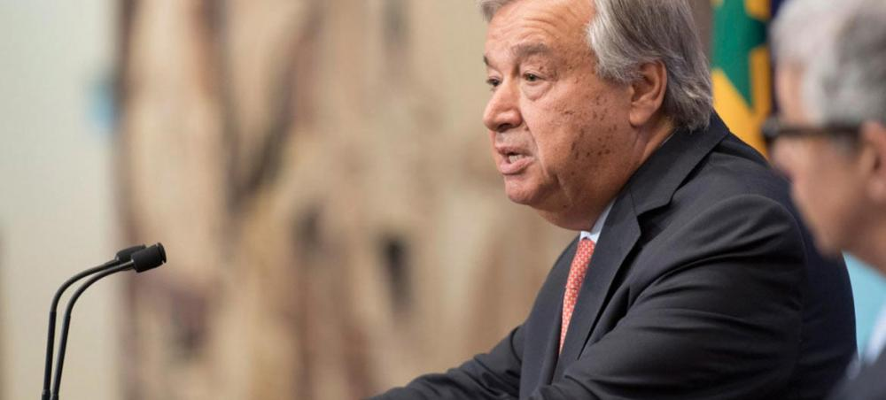 UN chief calls for 'united front' against anti-Semitism after US synagogue mass-shooting