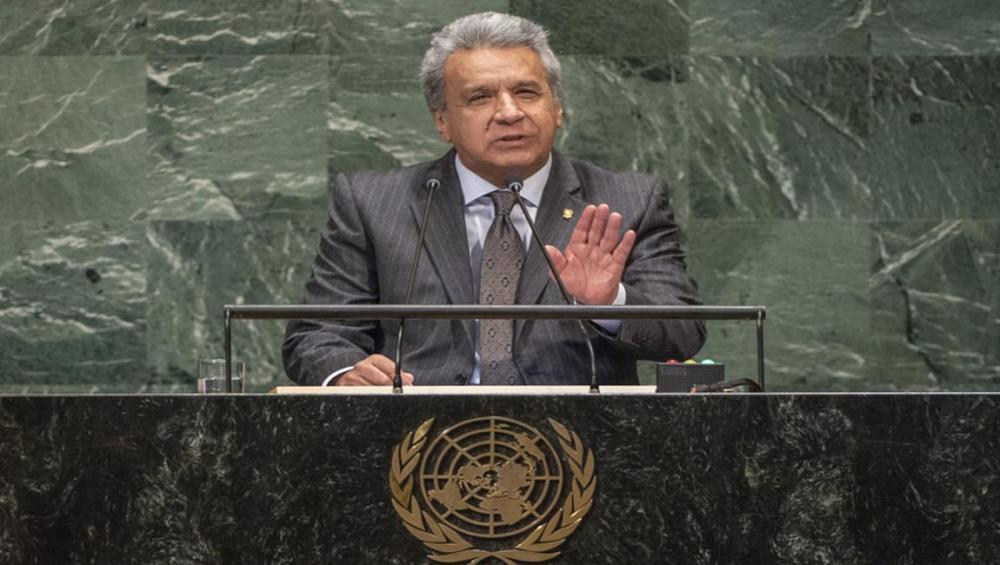 At UN Assembly, Ecuador pledges support for world's 'abandoned people' and persons with disabilities