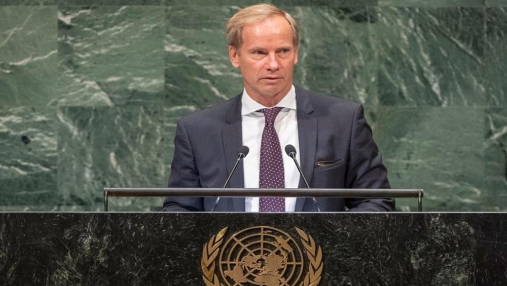 Work together, act on promises made collectively, Sweden urges at UN Assembly