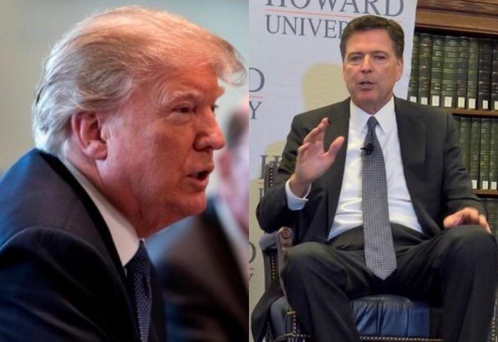 Trump 'morally unfit to be President': Ex-FBI Director James Comey