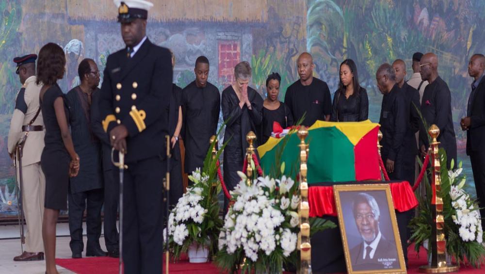 Former UN Secretary-General Kofi Annan laid to rest in Ghana; Guterres hails 'exceptional global leader'