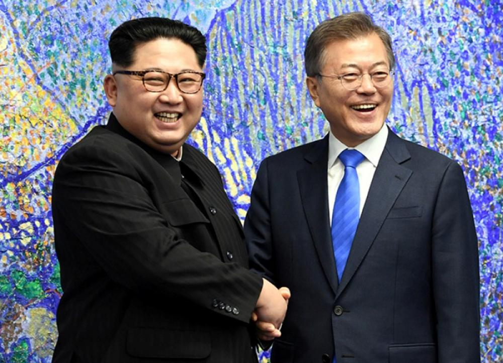 North and South Korea announce to end Korean war, pledge to denuclearize the peninsula