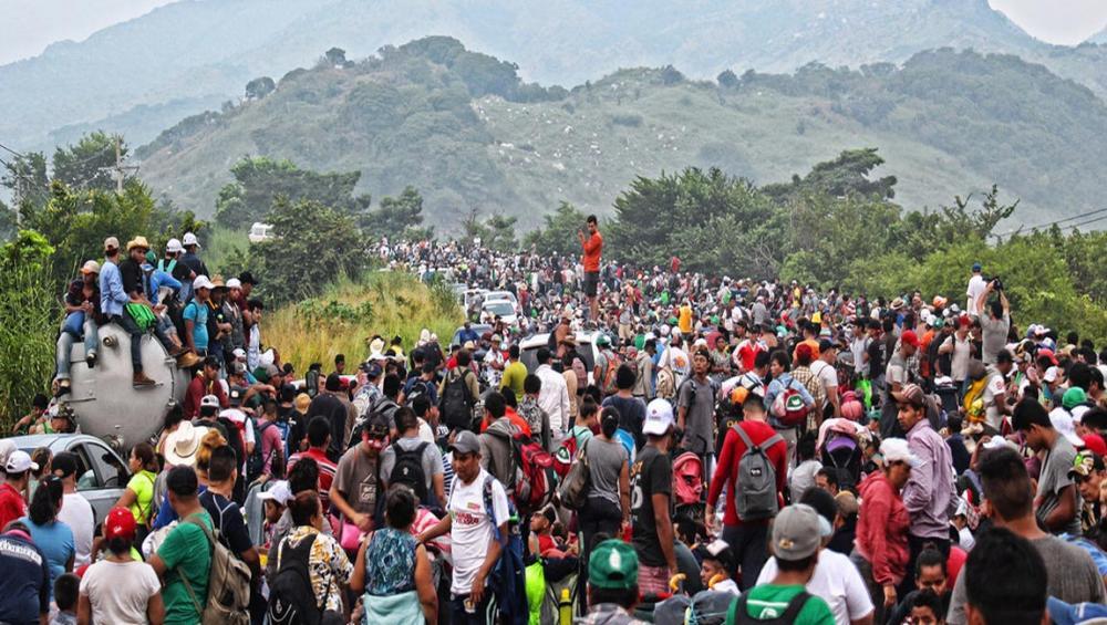 Migrant caravan: UN agency helping 'exhausted' people home