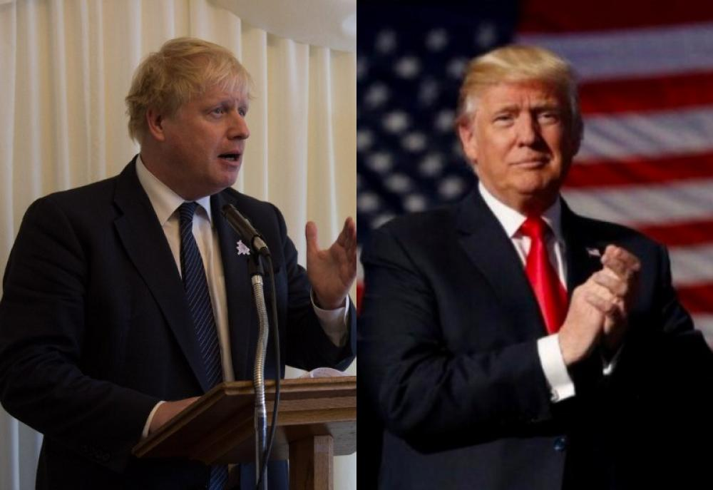 Iran deal: Boris Johnson urges friend Donald Trump to stay