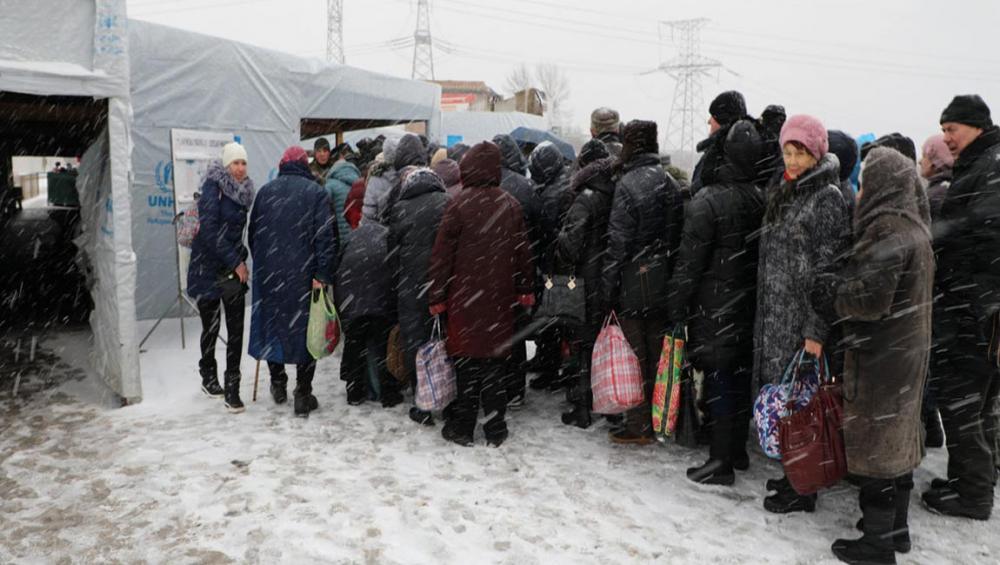 Ukraine: Temperatures plunge amid rising humanitarian needs