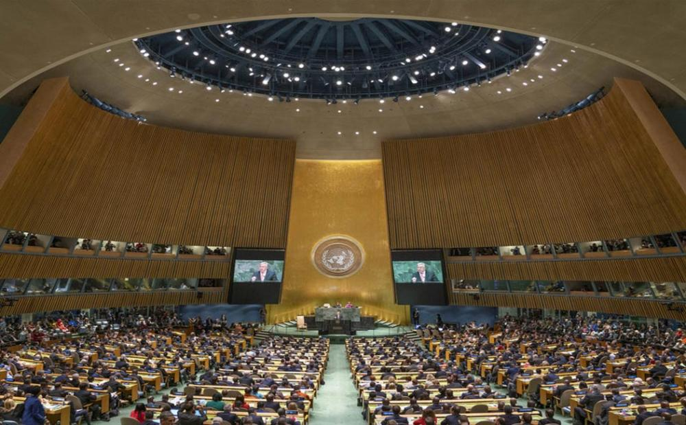 Setting out to 'transform the world' in the General Assembly