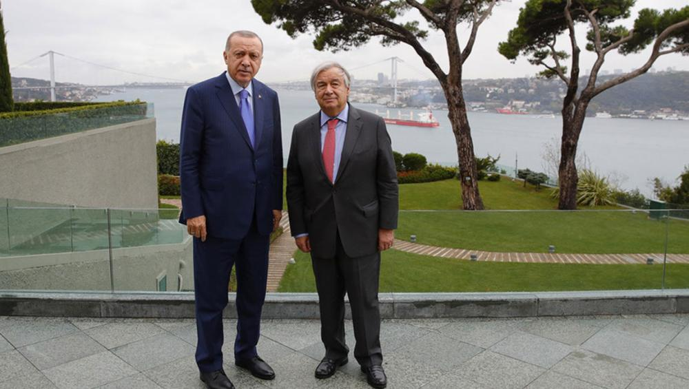 Guterres in Turkey: UN to study 'new settlement areas' plan for Syrian refugees