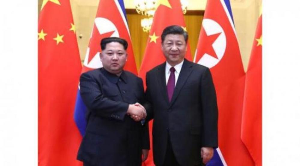 North Korean leader Kim Jong Un commences his China visit