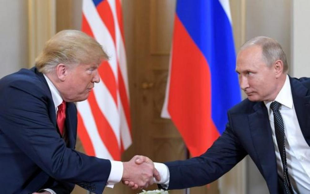 Trump, Putin speak over phone on counterterrorism, ties, says White House