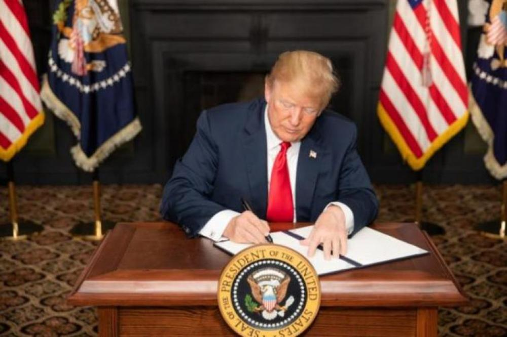 Trump vetoes bill blocking his border emergency declaration