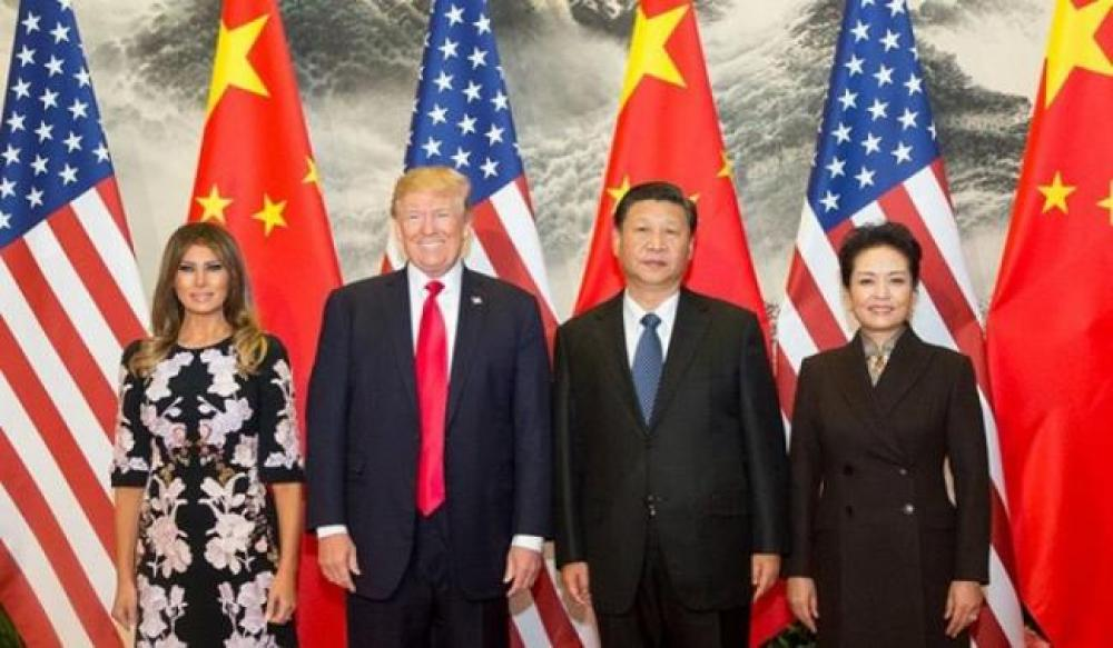 Trump says US 'Doing Well' in trade talks with China
