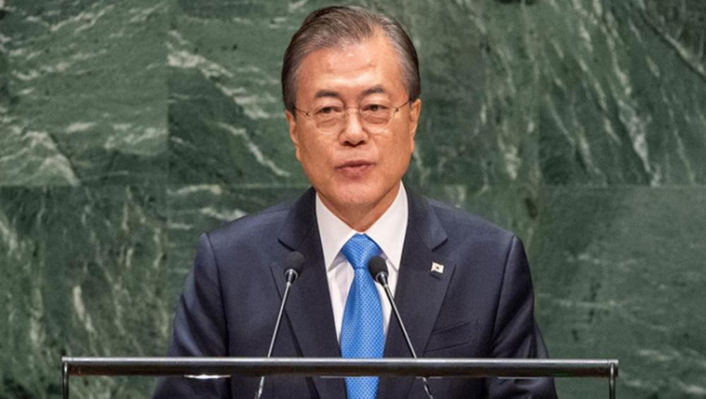Republic of Korea President proposes DMZ as future 'peace and cooperation district' on Peninsula