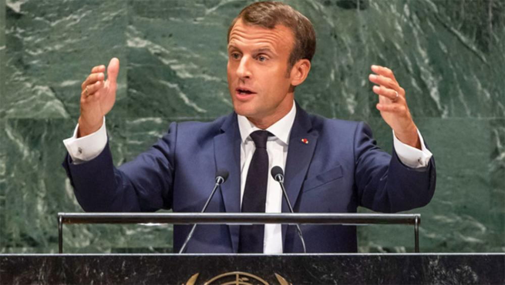 At UN, France's Macron says more 'political courage' is needed to face global challenges