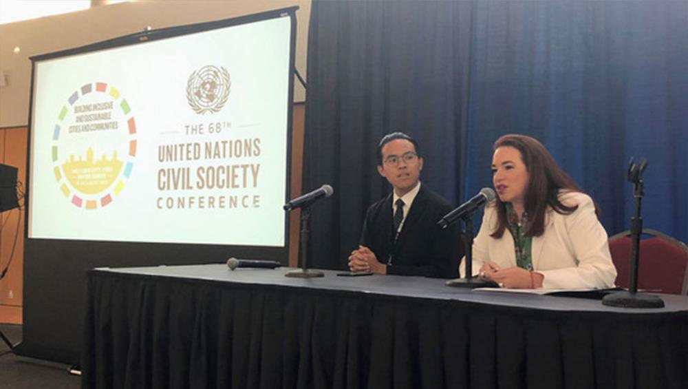 Partnerships with civil society and youth 'essential' for a future that leaves no one behind: General Assembly President