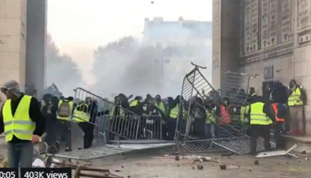 Number of Yellow Vest protesters in France fell to lowest since rallies began: Reports