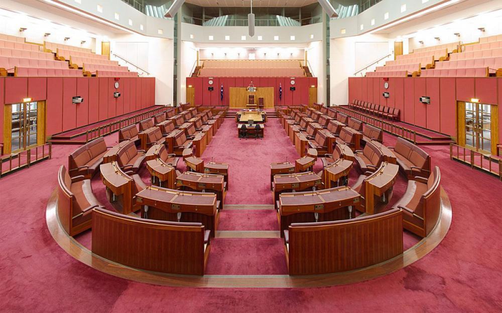 Upper house of Australia