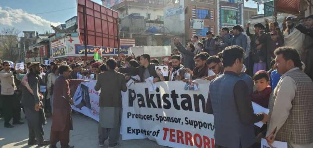 Afghanistan witnesses massive demonstration against Pakistan PM Imran Khan