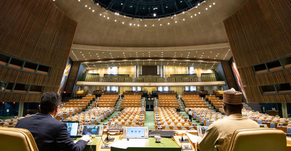 New Assembly president pledges to serve UN 'as a whole', building consensus