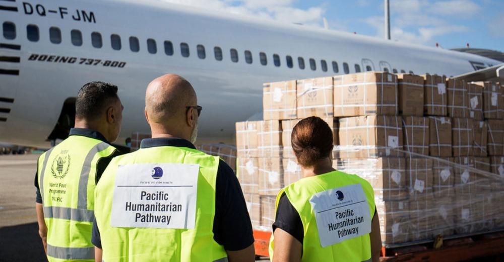 New humanitarian air service boosts COVID-19 response in the Pacific