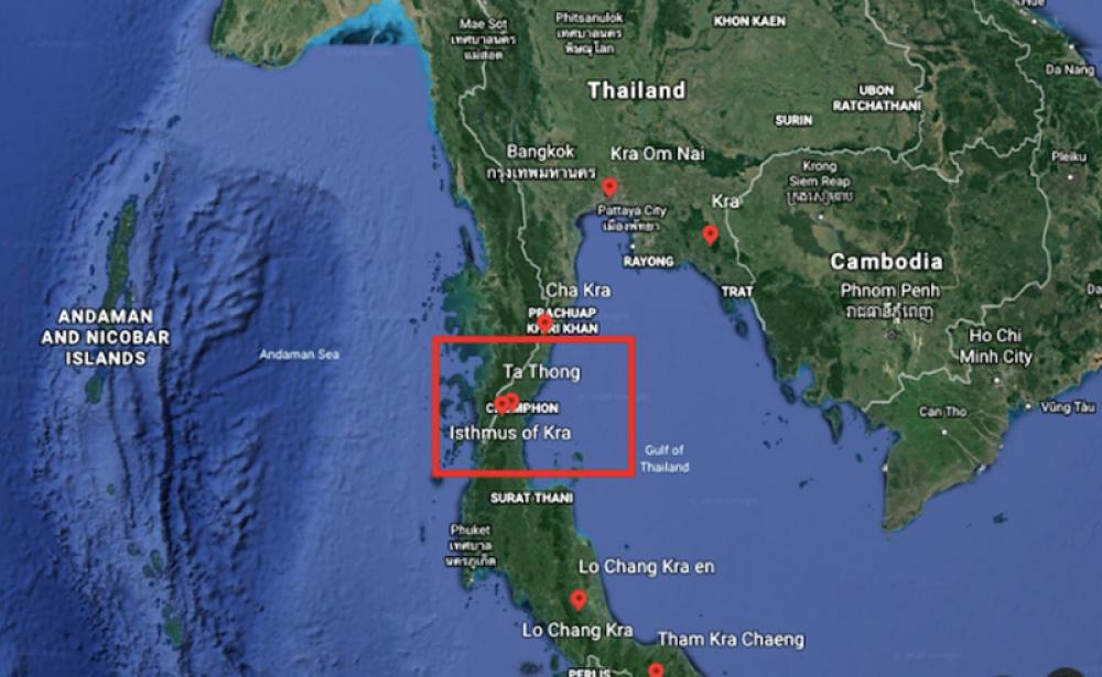 India-Australia-US join party to shatter Chinese dream of Kra canal project in Thailand