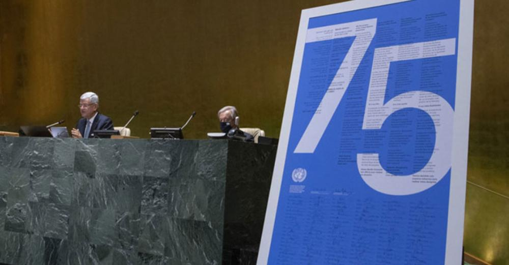 UN's mission 'more important than ever', Secretary-General says at UN Day ceremony