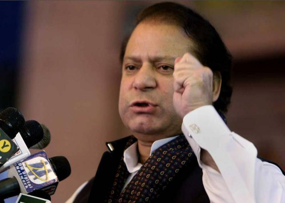 Pakistan is controlled by two parallel governments: Nawaz Sharif