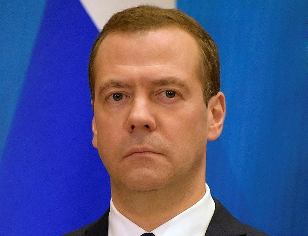 Prime Minister Medvedev announces resignation of Russian Cabinet