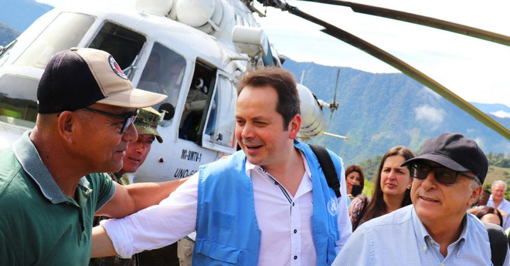 Colombia: 'Significant strides' towards integrated peace, UN envoy tells Security Council