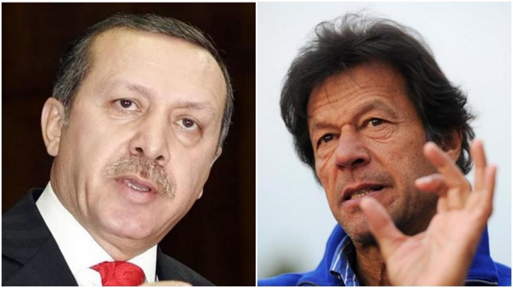 Turkish President Recap Erdogan assures Pakistan of support on Kashmir