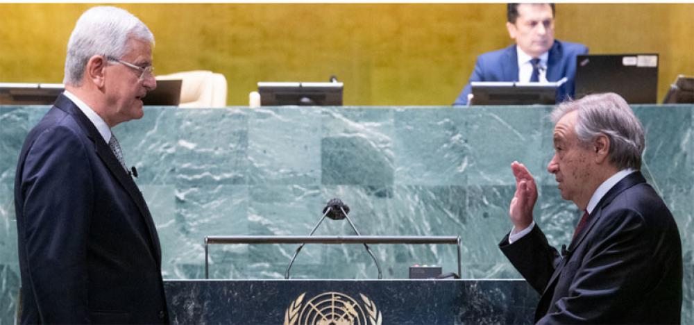 António Guterres secures second term as UN Secretary-General, calls for new era of 'solidarity and equality'