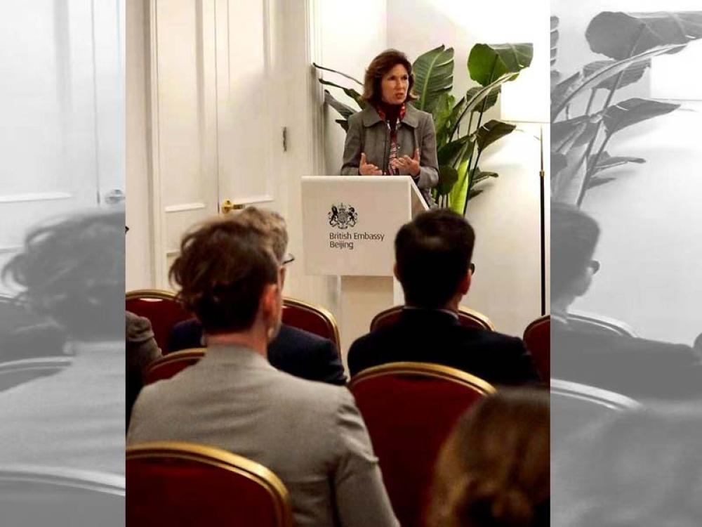 Press freedom article: China summons British envoy