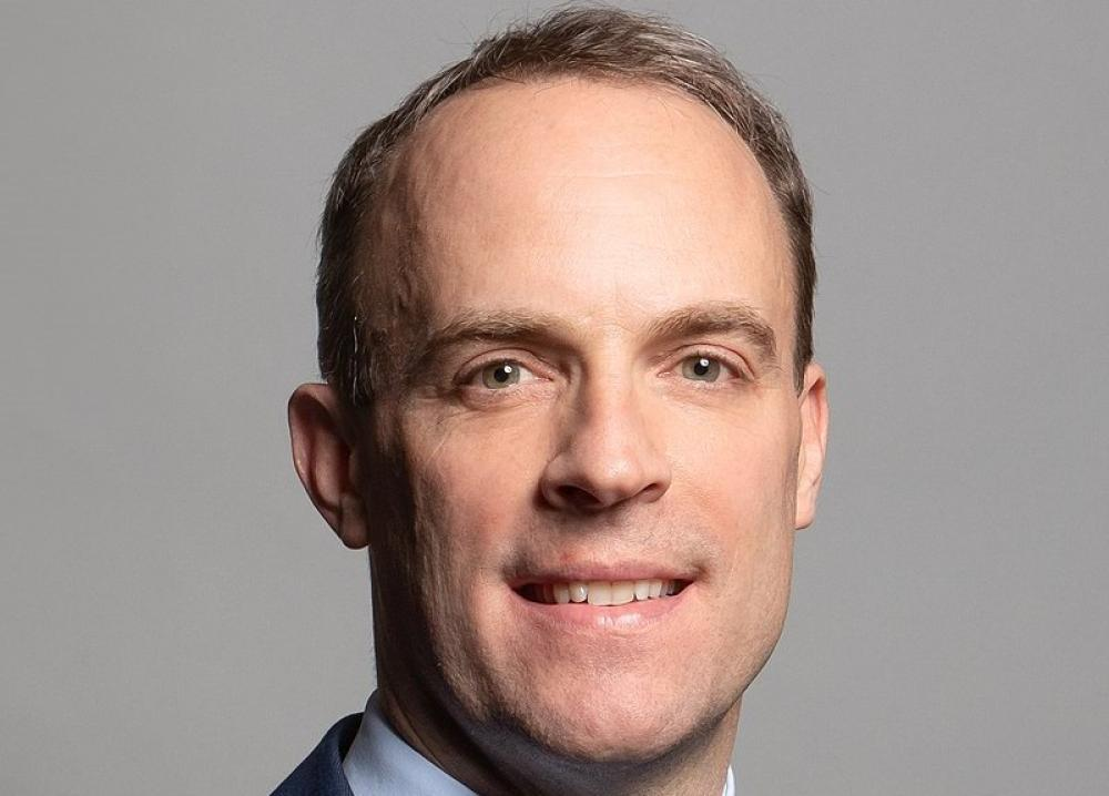 UK's Dominic Raab accuses China-backed actors of carrying out hacking attack