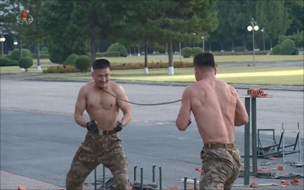 North Korea releases video of extreme drill of soldiers